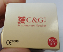 C&G Plus sterile acupuncture needles
