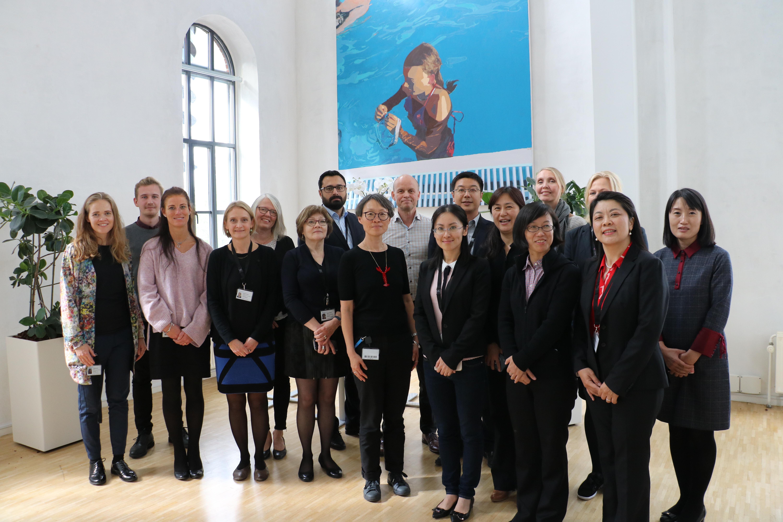 Drug agency from China visits Denmark