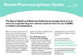 Danish Pharmacovigilance Update, 20 December 2012