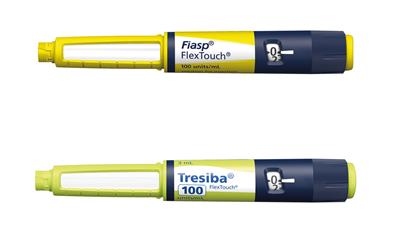 Pas på forveksling mellem insulinpennene Fiasp og Tresiba U100