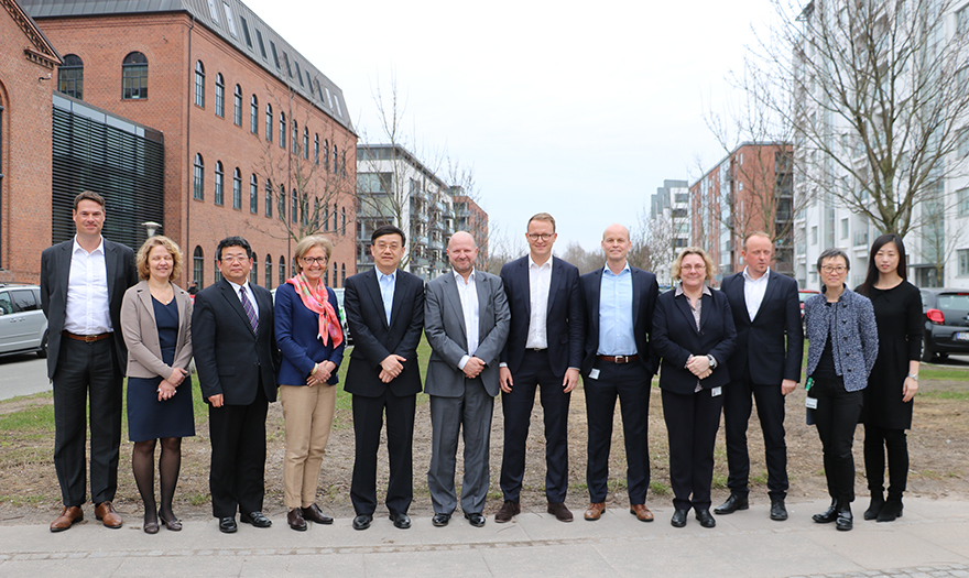 Chinese delegation is visiting the Danish Medicines Agency today