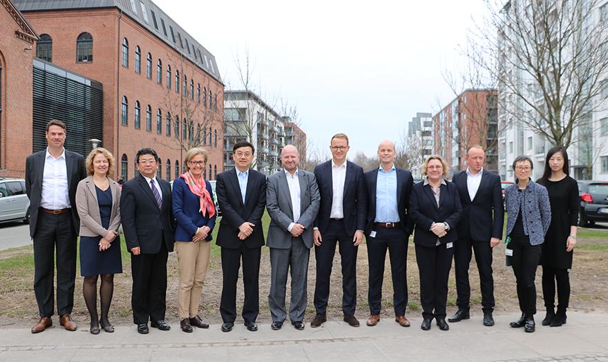 Kinesisk delegation på besøg i Lægemiddelstyrelsen i dag