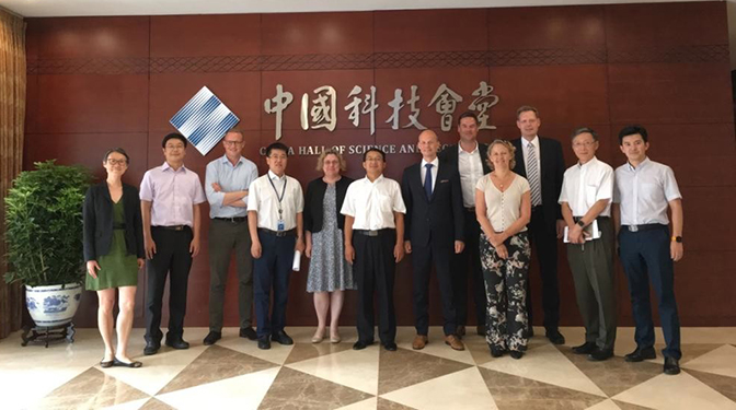 The Danish Medicines Agency on a business visit to China